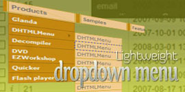 Lightweight DropDown Menu